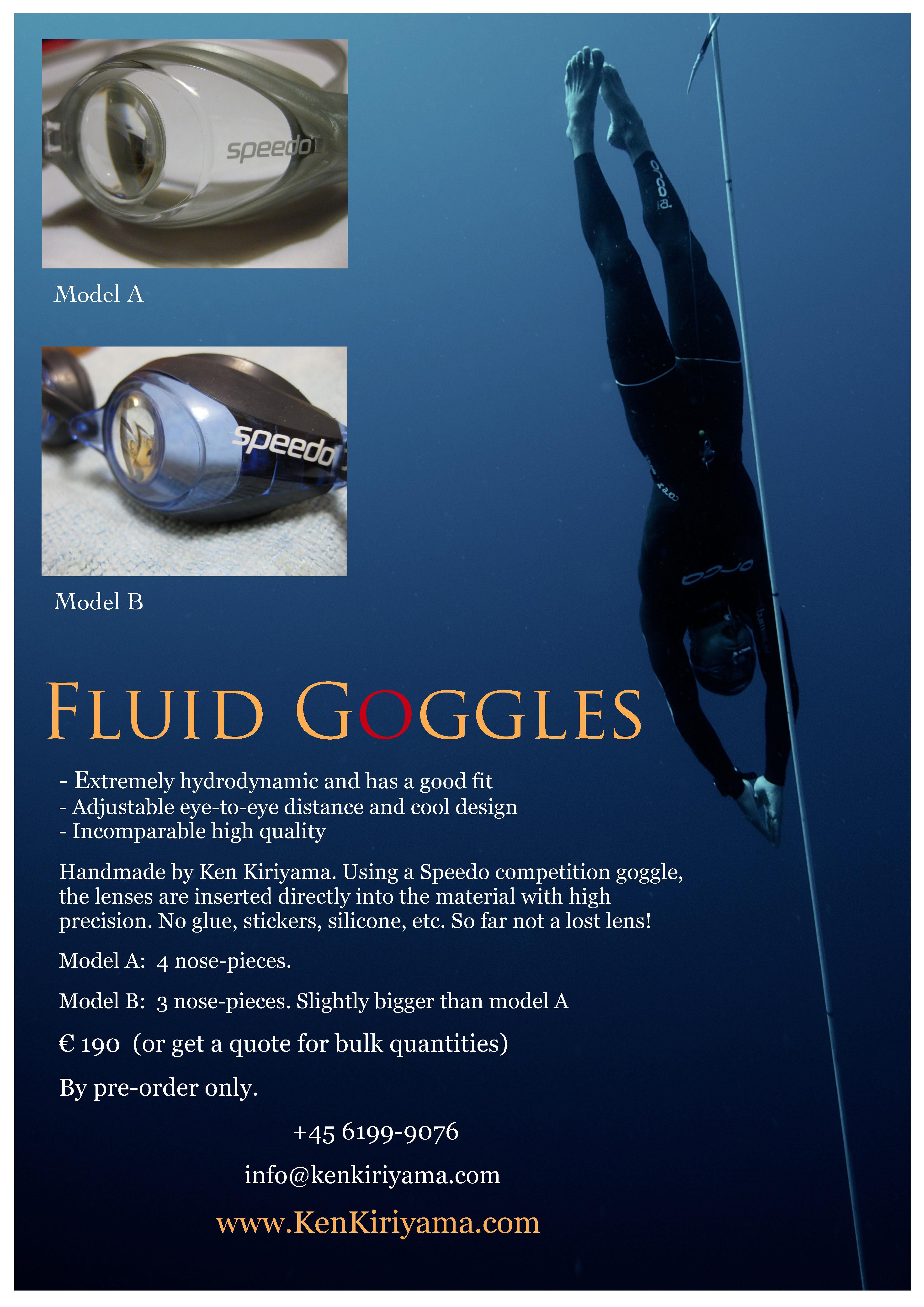 Fluid goggles 2013