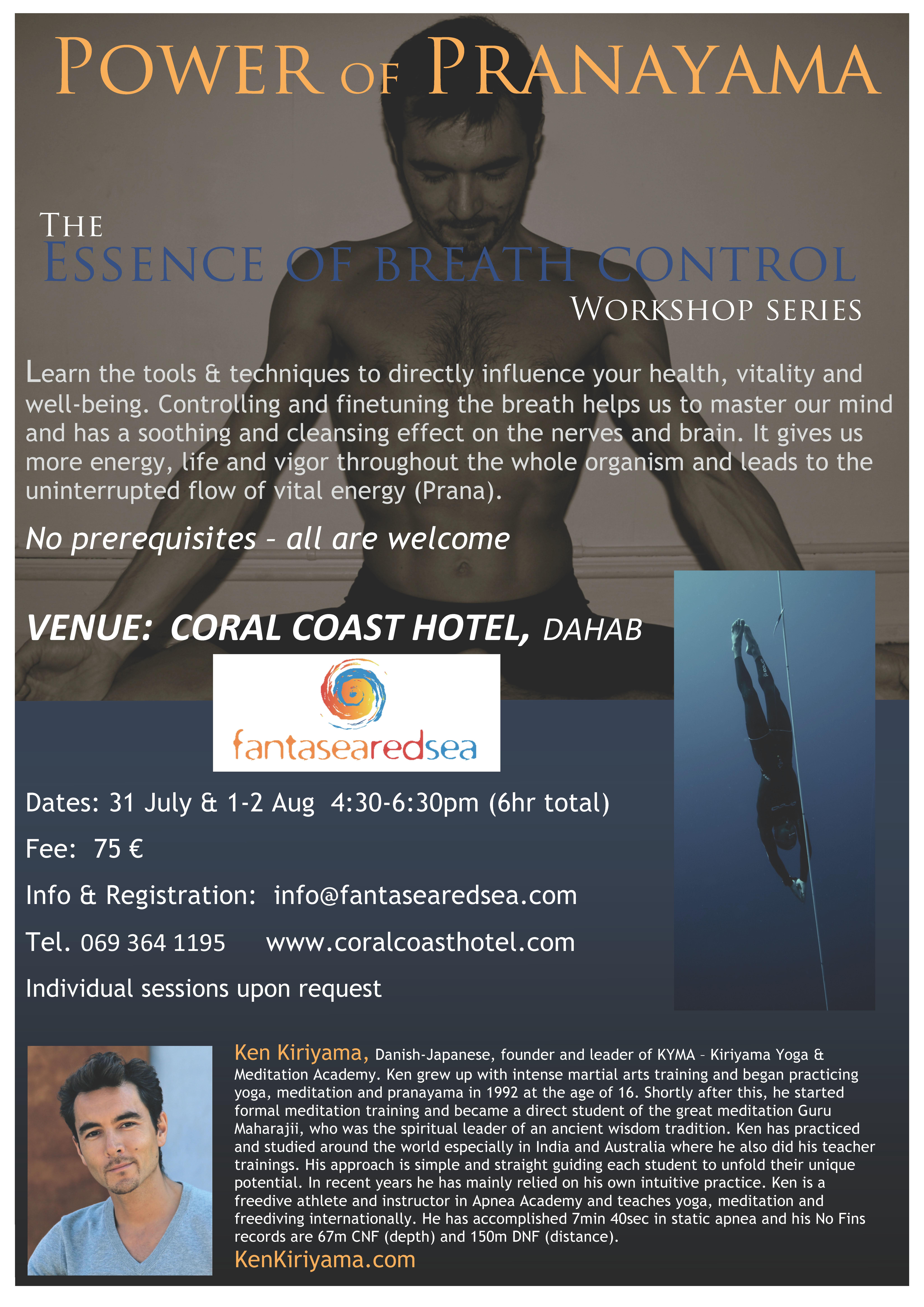 Pranayama Workshop Coralcoast
